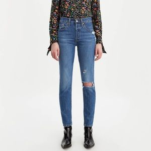 Levi's Jeans - Levi's 501 skinny high waist button fly jeans NWT